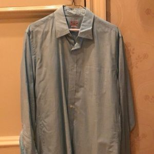 J.Crew casual teal shirt